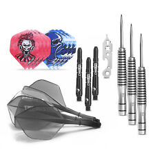 Tungsten Steel tip Darts 23g+Carry case+Alu shafts+Sharpener+Tool+Durable Tails