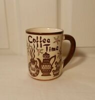 Vtg Tilso Japan Coffee Time Back to Work Personal Property Novelty Coffee Mug