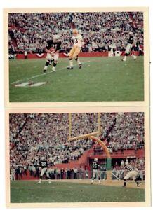 1968 Green Bay Packers vs. Oakland Raiders, Super Bowl II Original Photos w/LOA