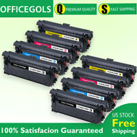 8PK CF360X CMYK Toner Cartridge for HP 508X Color LaserJet M552 M553 MFP M577