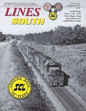 Lines South: ATLANTIC COAST LINE & SEABOARD AIR LINE, 4th Qtr. 2017 -- (NEW)