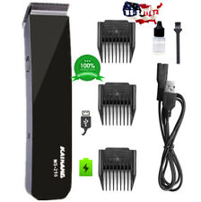 Rechargeable Electric Hair cut Clipper trimmer Men Haircut Grooming Kit PRO