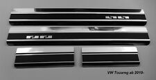 Einstiegsleisten für VW TOUAREG II ab 2010 Carbon-Style Edelstahl