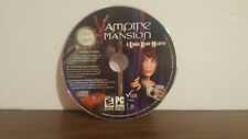 Vampire Mansion: A Linda Hyde Mystery Jewel Case (PC, 2011) Disc only