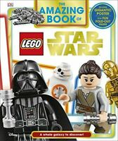 Very Good, The Amazing Book of LEGO® Star Wars: With Giant Poster, Fentiman, Dav