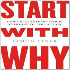 Start With Why: How Great Leaders Inspire Unabridged Simon Sinek AUDIO BOOK CD