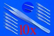 10 chirurgische Pinzetten nach Adson ca. 12 cm, Top Qualität