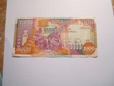 --------1 BILLET- 1000 shillings 1990----SOMALIE-----TTB+++