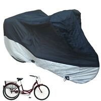 "Adult Tricycle Cover for Schwinn, Westport, Kent, Torker, Fits 26"" Tricycles"
