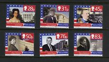P970  Isle of Man  2006  Manx ties to Washington    6v.  MNH