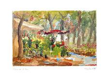 Pierre Jean llado póster son impresiones artísticas imagen blumenpromenade 50x70 cm