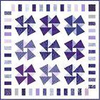 "YOLANDA'S JACARANDA - 57"" - Quilt-Addicts Precut Patchwork Quilt Kit Lap Size"