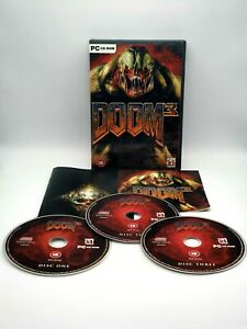 Doom 3 - PC CD-ROM - Win XP/2000 with Manual. Amazing Game, Tested and Working