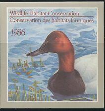 CANADA B.O.B. FEDERAL WILDLIFE HABITAT CONSERVATION #FWH2 MINT DUCK STAMP (B)