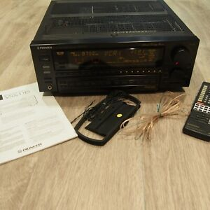 Pioneer VSX-D1S Stereo Receiver with CU-VSX053 Remote and Manual Bundle