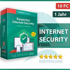 Kaspersky Internet Security 2021 10 PC (Geräte) 1 Jahr - Aktivierungscode