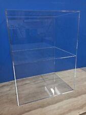 "Acrylic Lucite Countertop Display ShowCase Cabinet 12"" x 9.5"" x 16""h 1 shelve"