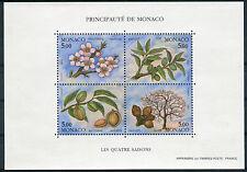 Monaco 1993 Foglietto Le quattro stagioni del mandorlo MNH
