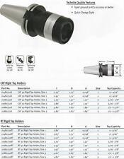 Techniks CNC BT50 Rigid Tap Holder Size#1 FITS HAAS +