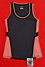 MARKS & SPENCER ACTIVE LADIES SPORTS / YOGA TOP - UK SIZE 6 - NEW WITH TICKETS!
