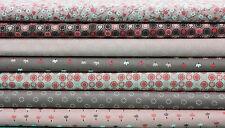 Markenlose allgemeine Handarbeitsstoffe mit Blumenmuster aus 100% Baumwolle