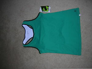 Women's Cycling Liberty Tank in Solid Jade by Cannondale, Summer, Biking NEW/NWT