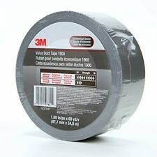 3m Value Duct Tape 1900 Silver 188 In X 50 Yd 58 Mil