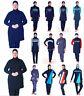 Muslim Blue Full Cover Swimwear Beach Swimsuit Women Modesty Plus Size Burkini
