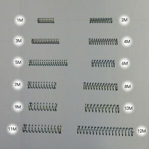 COMPRESSION SPRING Wire Diameter 0,8mm M
