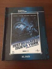1997 RESCATE EN NUEVA YORK - LIBRO 52 PAGS + DVD - EL PAIS CINE CIENCIA FICCION