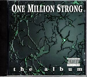 One Million Strong The Album 1995 OG CD Compilation Rap Hiphop R&B V/A Artists 1