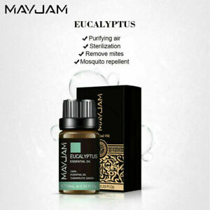 10ml Essential Oil 100% Pure & Natural Fragrance Oil Aromatherapy Diffuser SPA