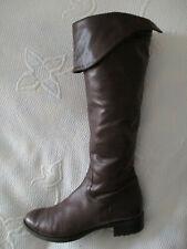 Ladies Jane Shilton Brown mid calf leather boots U.K. 6 (EUR 39)