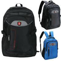Mens Boys Laptop School College Backpack Waterproof Outdoor Travel Bag