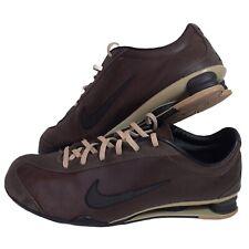 Nike Shox 2006 Genuine Brown Leather UK7/ US8  Mens Trainers