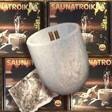 Hukka Design Saunatroikka Speckstein-Springbrunnen für die Sauna aus Finnland