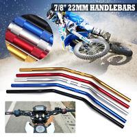 7/8'' 22mm Handlebars Handle Bars For Off Road Motorcycle Dirt Pit Bike Aluminum