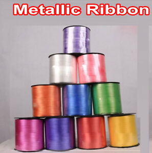 5mm Wide Luxury Balloon Metallic curling ribbon 450 meter Party Wrapping Balloon