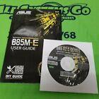ASUS B85M-E B85M-E/CSM Motherboard Manual & Driver CD