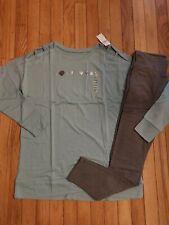 NWT Girls Justice Tunic Sweatshirt Size 18/20 - Leggings Size 16/18