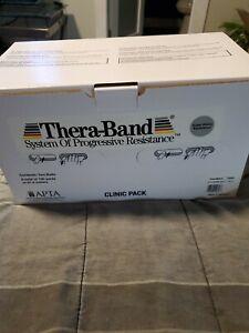 New Box 100 yard Silver Thera-Band Theraband Resistance Band 12693 Super Heavy