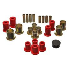 Energy Suspension Control Arm Bushing Kit 3.3173R; Red for Chevy, Buick F/S