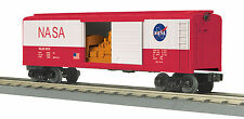 Mth Railking O Gauge Trains Nasa Rounded Roof Box Car w' Generator 30-74803