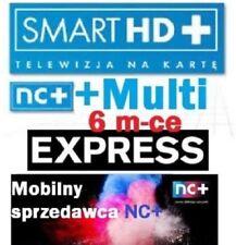TNK SMARTHD+ MULTI+  6 m-ceTELEWIZJA NA KARTĘ,DOŁADOWANIE AUFLADUNG nc+ pl tv