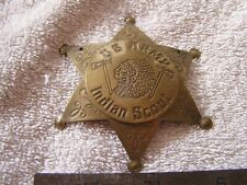 Vintage Star Pin Badge Army Scout