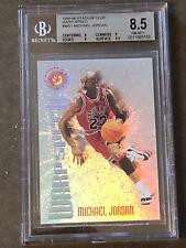 1995-96 Topps Stadium Club Warp Speed #WS1 Michael Jordan Bulls HOF BGS  8.5
