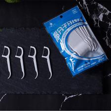 30/50/100 pcs soie dentaire nettoyage dentaire cure-dent flexibilité forte