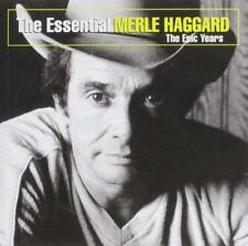 Merle Haggard The Essential-Epic Years CD NEW SEALED 2004 Country Willie Nelson