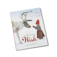 The Christmas Wish Book Hardcover Kids Story of Anja and Santa Reindeer Evert