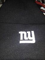 New York Giants Knit NFL black Hat Winter Pom Beanie Stocking Forever Cap bin23